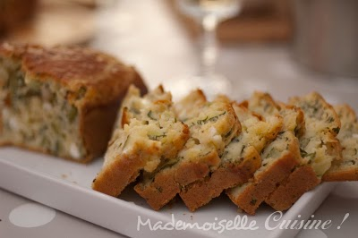 Cake Sal Ef Bf Bd Courgettes Chevre