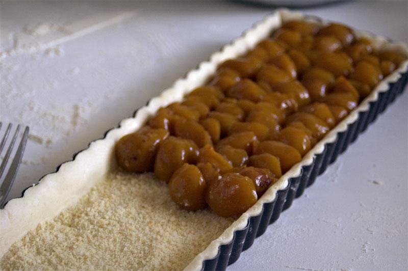 Tarte aux mirabelles recette de cuisine mademoiselle cuisine recettes astuces actu cuisine - Recette avec des mirabelles ...