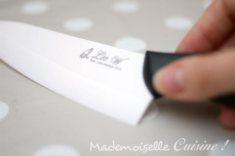 couteau en c ramique l o w le test recette de cuisine mademoiselle cuisine recettes. Black Bedroom Furniture Sets. Home Design Ideas