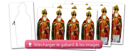 Recette des pains d 39 pices de la st nicolas maisons - Image de saint nicolas a imprimer ...