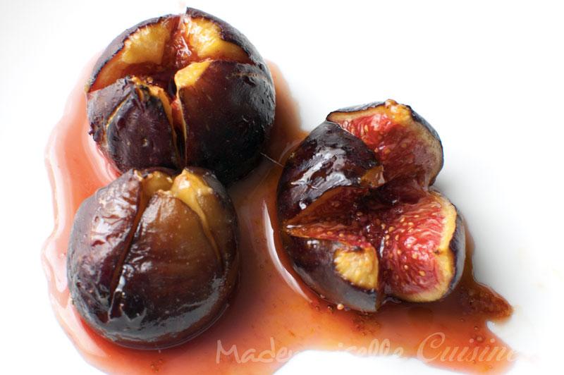 Figues roties au miel , Recette de Cuisine ~ Mademoiselle Cuisine  recettes,  astuces, actu cuisine